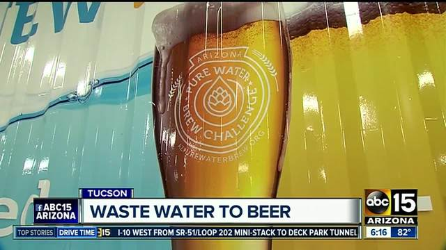 Beer to be created with recycled sewage water