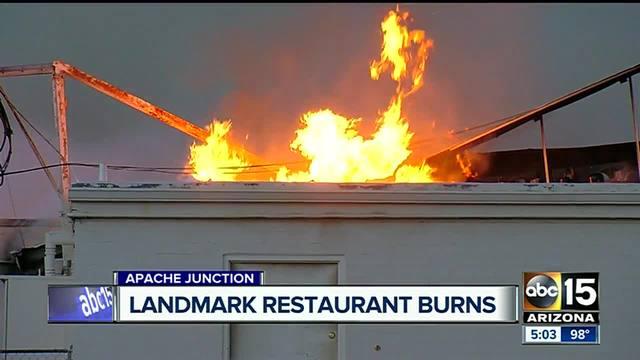 Landmark family restaurant gone after devastating fire