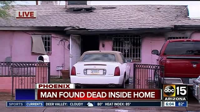 Man found dead inside Phoenix home