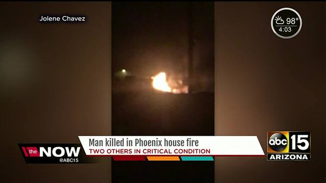 Phoenix man couldn-t make it out of burning house fire