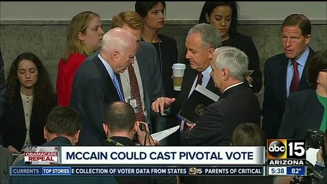 Sen- John McCain to return to Senate on Tuesday as he battles cancer