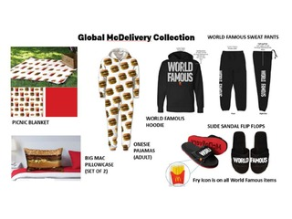 McDonald's launches clothing line