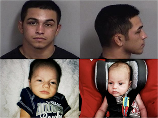 Kidnapped Yuma baby located, dad arrested