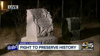 Old Phoenix cemetery has interesting history