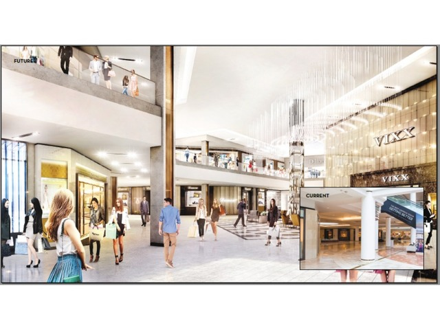 An Artist Rendering Of Scottsdale Fashion Squares Renovations The Main Differences Are Columns Have Been Given A More Modern Look And Malls