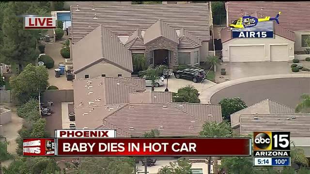 Phoenix infant dies in hot auto  _ second such death in city