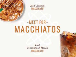 BOGO! Starbucks offers tasty macchiato deal