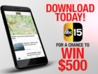 CONTEST: Download our app for chance at $500
