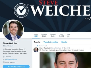 Senate candidate says Twitter hacked, porn sent