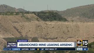 Inactive mine leaking arsenic into Arizona creek