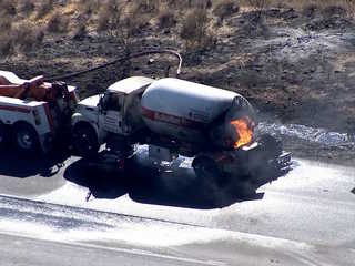 I-17 north of PHX reopens after tanker fire