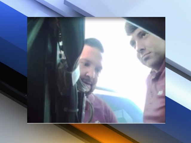 Skimmer device found at a gas station in Picacho