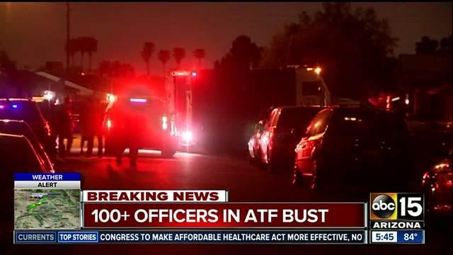 ATF involved in massive Valley raid