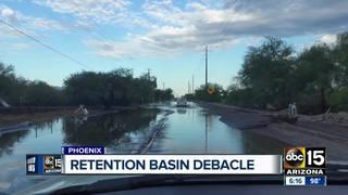 Roads still flooding after $4.5M basin built