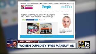 Free makeup? Fake Facebook post tricks thousands