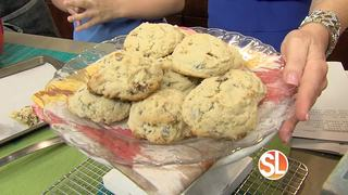 GET THE RECIPE: Chocolate chip cookies!