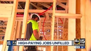 Thousands of high-paying Arizona jobs still open