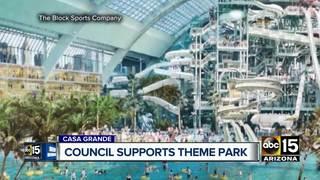 Case Grande City Council approves theme park