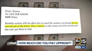Let Joe Know: How much should you pay upfront?