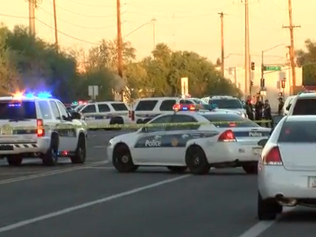 PD: Suspect shot by police in PHX, officers OK