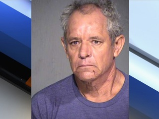PD: Man fends off knife attack with portable AC