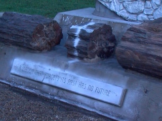 Valley Confederate monuments defaced, damaged