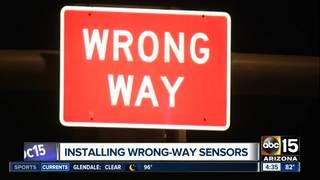 Wrong-way driver system work starts along I-17