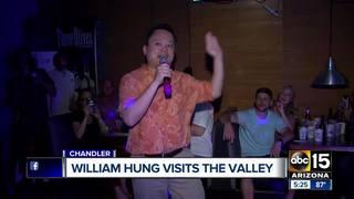 VIDEO: Idol star William Hung sings in Valley