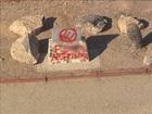 Jefferson Davis monument vandalized again