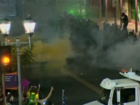 LIVE: Police, protesters clash after Trump rally