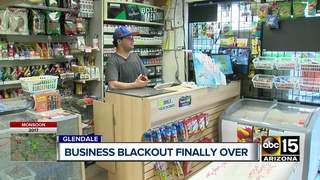 Six-day outage ends for Glendale businesses