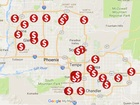 MAP: 50 credit card skimmers found around AZ