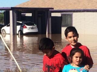 Casa Grande home still flooded weeks after storm