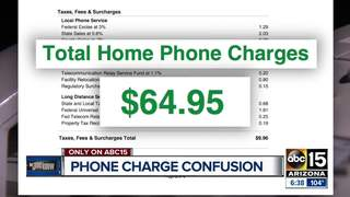 22 extra fees on your phone bill?