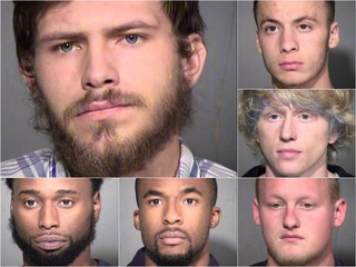 PD: 6 men drive from N. AZ. to steal from cars