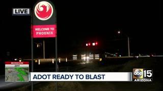 Loop 202 expansion blasting starts Monday