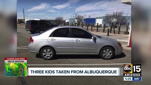 Amber Alert issued for three boys believed to be in danger