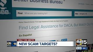 Will scammers target Dreamers?