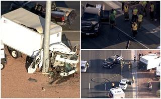 Phoenix FD: 1 person dead after Loop 101 crash