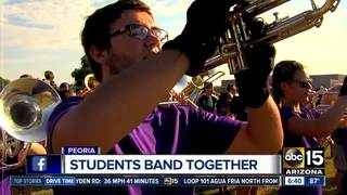 Peoria band students raising money for truck