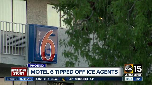 Motel 6 Locations in Phoenix Suspected of Calling ICE on Undocumented Guests