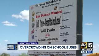 San Tan Valley school buses overcrowded?