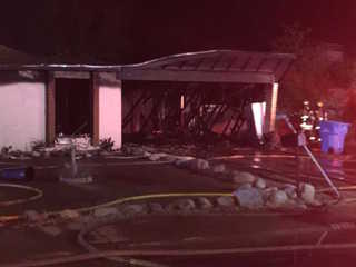 FD: House catches fire in N. PHX, gas detected