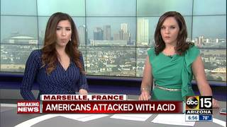 4 US tourists attacked with acid in Marseille