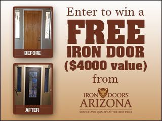 RULES: Iron Door Makeover Photo Sweepstakes