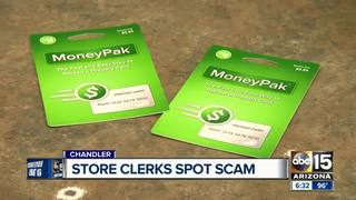 Grocery store employees save man from scammers