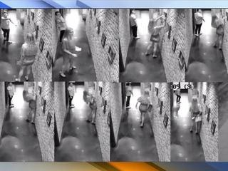 Woman steals art from PHX bar, hides under skirt