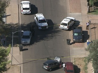2 hurt, suspect caught after Chandler shooting