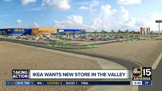 IKEA Wants To Build 2nd Arizona Store In Glendale
