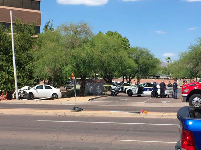FD: Mom, baby struck by car in PHX parking lot